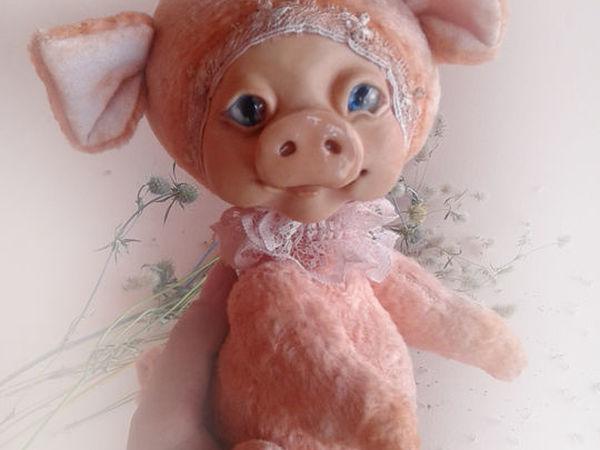 Совместный пошив свинки Кати   Ярмарка Мастеров - ручная работа, handmade