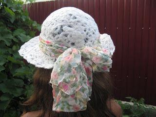летняя шляпка, nunofelting