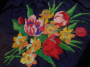 Вышивка цветы. Ярмарка Мастеров - ручная работа, handmade.