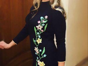 Срочно! 25% скидка на платье из 100% альпаки   Ярмарка Мастеров - ручная работа, handmade