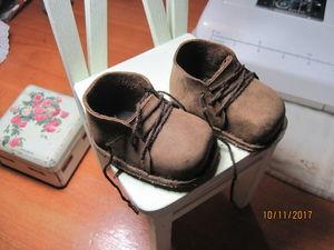 Съемные ботиночки, наконец я попробовала их сделать!. Ярмарка Мастеров - ручная работа, handmade.