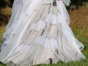 Фотосессия свадебного бохо-платья с гламурными нотками. Ярмарка Мастеров - ручная работа, handmade.