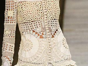 Интересные идеи декора одежды и аксессуаров вязаными элементами. Ярмарка Мастеров - ручная работа, handmade.