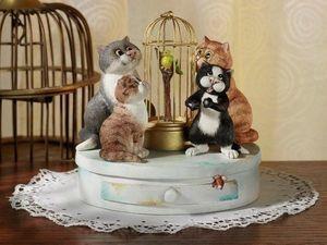 Удивительные котики от Linda Jane Smith. Ярмарка Мастеров - ручная работа, handmade.