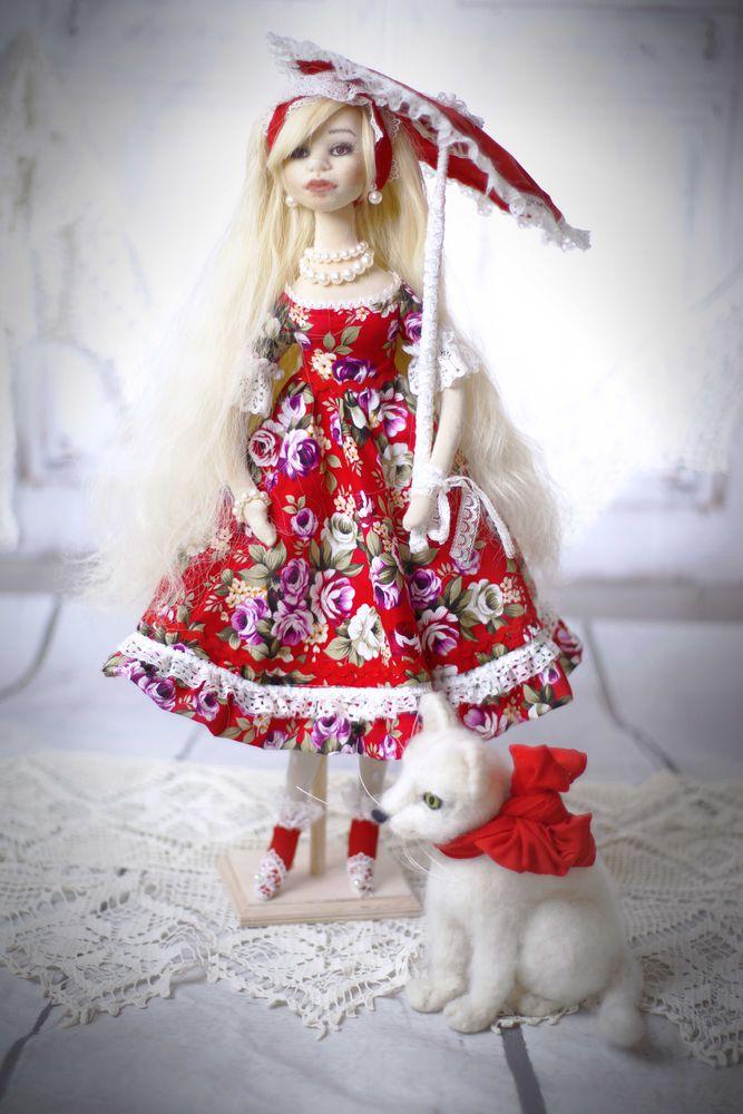 интерьерная кукла, эмилия рай