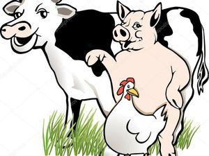 Сказ о том, как мужик корову менял (А Елена Премудрая — куколку). Ярмарка Мастеров - ручная работа, handmade.