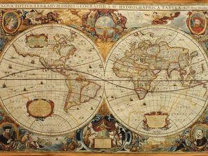 Анонс: старинные карты в гобелене. Ярмарка Мастеров - ручная работа, handmade.