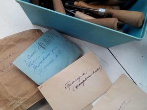 Дачный клад или прабабушкины рукодельные сокровища | Ярмарка Мастеров - ручная работа, handmade