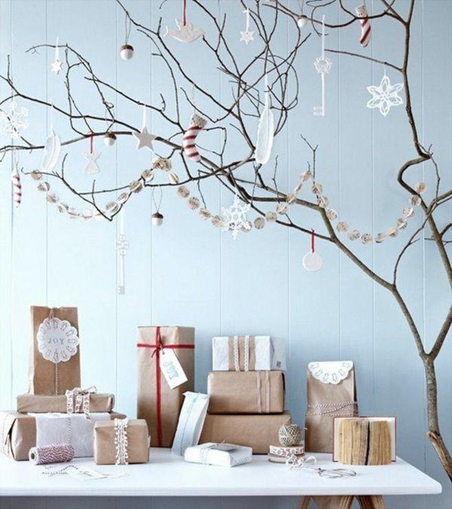 ветки деревьев на новый год фото это
