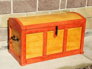 """Сундук для хранения, из дерева """"Сказочный"""" Сундук деревянный. Ярмарка Мастеров - ручная работа, handmade."""