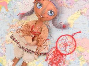 Аукцион, куколка Манька ). Ярмарка Мастеров - ручная работа, handmade.