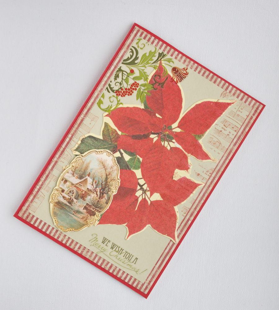 новый год 2017, открытка, открытка своими руками, зелёный