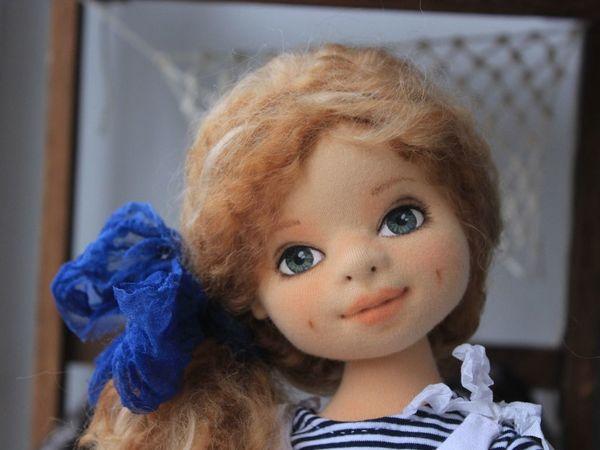 Новая кукла уже в магазине! Аврора, юная морячка   Ярмарка Мастеров - ручная работа, handmade