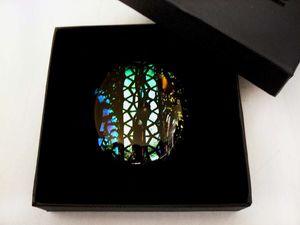 Новинка! Кабошон из стекла «Звёздные туманности».. Ярмарка Мастеров - ручная работа, handmade.