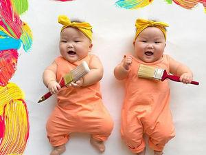 Близняшки Leia и Lauren из Сингапура покоряют мир!. Ярмарка Мастеров - ручная работа, handmade.