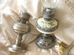 Декорируем старую керосиновую лампу. Ярмарка Мастеров - ручная работа, handmade.
