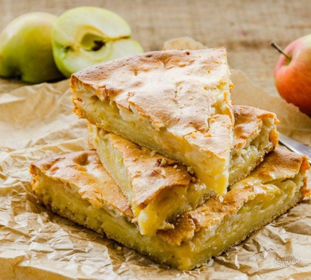 Пирог цветаевский яблочный рецепт с фото