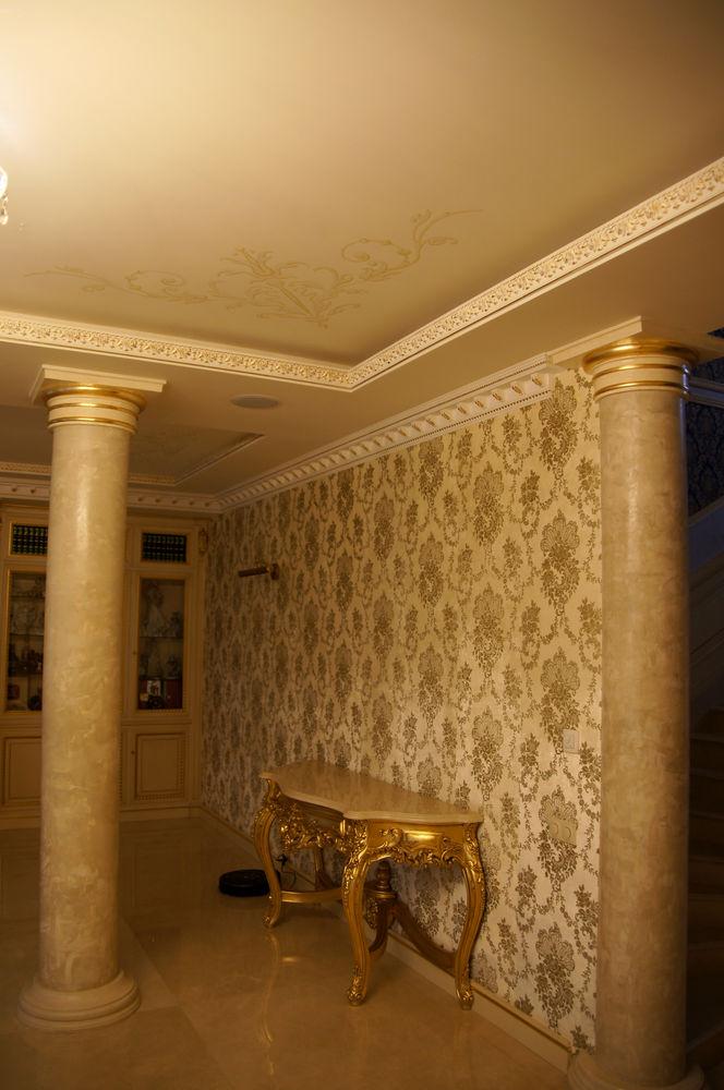 роспись стен, декор интерьера, акриловые краски