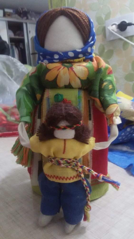 сувениры и подарки, куклы обереги, тряпичная кукла, семья