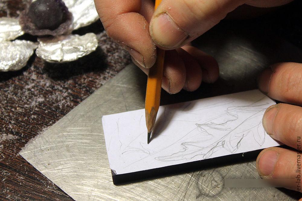 Колье «Элли»: процесс создания. Часть первая, фото № 21