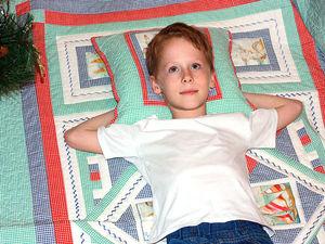 Спонтанная реклама Морского лоскутного одеяла. Ярмарка Мастеров - ручная работа, handmade.