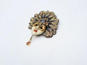 Новая работа. Немного о Венеции и Карнавале.... Ярмарка Мастеров - ручная работа, handmade.