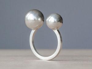 Изготавливаем серебряное кольцо с шариками. Ярмарка Мастеров - ручная работа, handmade.