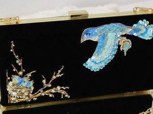 Фотосъемка клатчей с вышивкой по бархату. Ярмарка Мастеров - ручная работа, handmade.