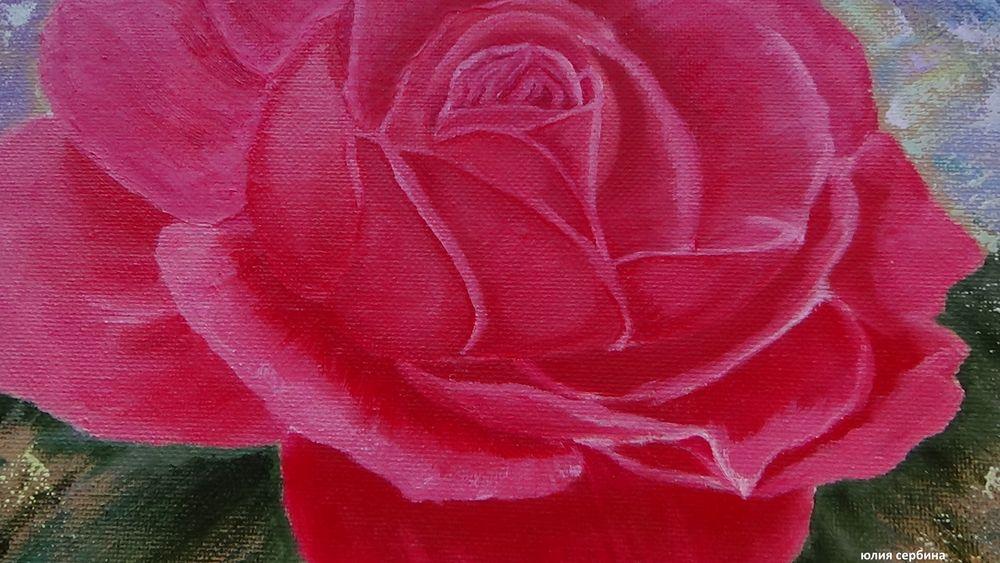 картина маслом цветы, живопись, натюрморт