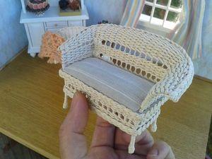 Плетеные изделия в миниатюре. Ярмарка Мастеров - ручная работа, handmade.