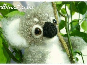 Мастер-класс по созданию вязаного коалы. Ярмарка Мастеров - ручная работа, handmade.