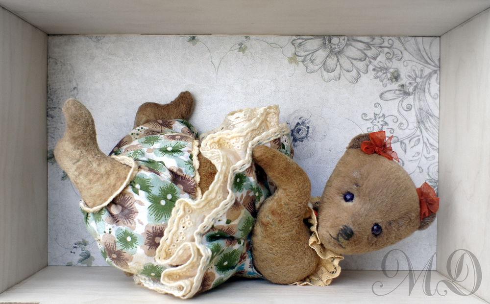 мишка в одежде