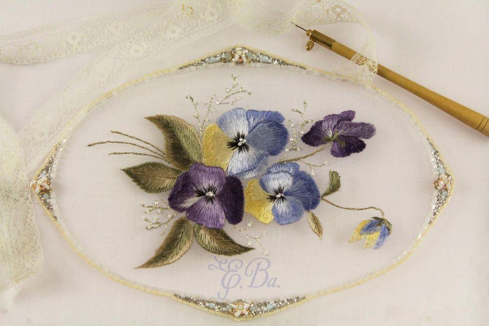 люневильская вышивка, золотное шитье