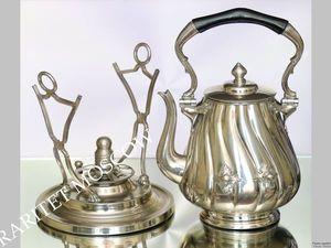 РАРИТЕТИЩЕ Бульотка чайник серебрение клеймо 5. Ярмарка Мастеров - ручная работа, handmade.