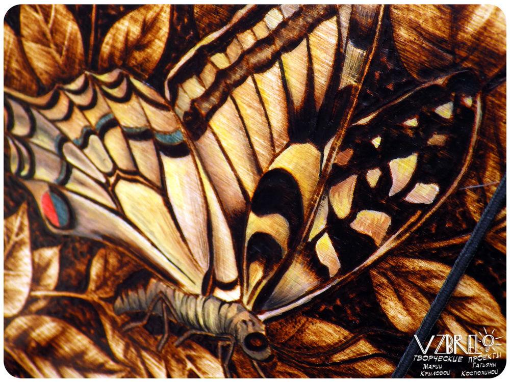 взбрело, бабочка, роспись, новое