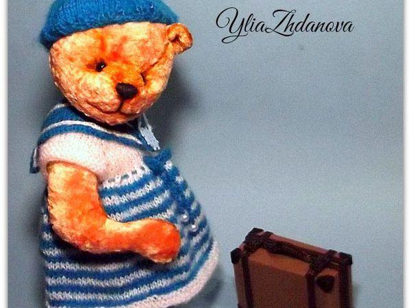 Мастерим чемодан для мишутки | Ярмарка Мастеров - ручная работа, handmade