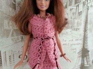 Вязаный комплект для кукол Барби. Ярмарка Мастеров - ручная работа, handmade.
