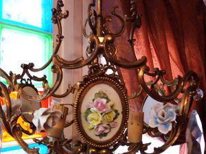 Новые винтажные люстры и новые цены в ANTIK ART | Ярмарка Мастеров - ручная работа, handmade
