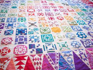 Выставка лоскутных одеял