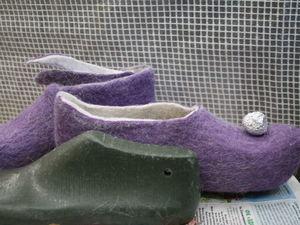 Как я делаю у тапочек острый носик. Ярмарка Мастеров - ручная работа, handmade.