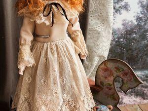 Реконструкция антикварной куклы.Ретро-инсталляция Детская. Ярмарка Мастеров - ручная работа, handmade.