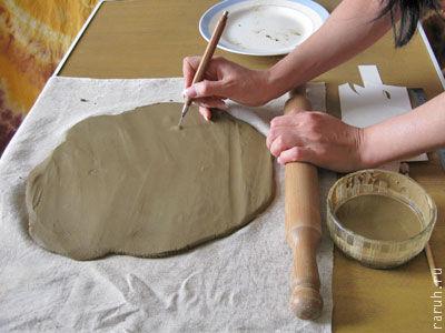 Как сделать глину виде 15