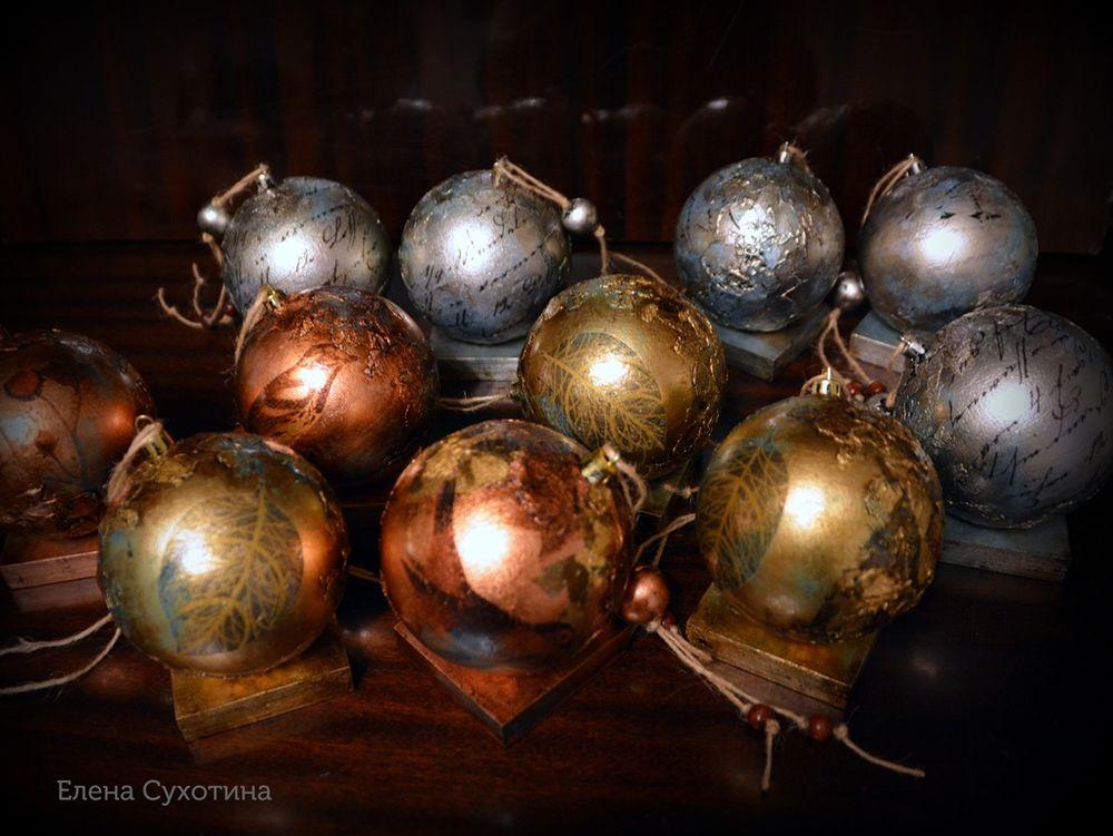 новый год, интерьерный шар экспромт, корпоративный подарок