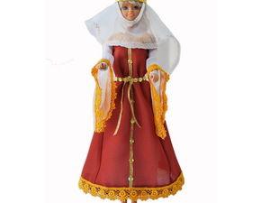 Женский костюм романского периода | Ярмарка Мастеров - ручная работа, handmade