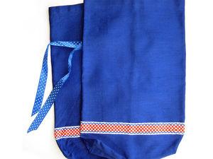 Мастер-класс по пошиву мешочков с тесьмой в русском стиле. Ярмарка Мастеров - ручная работа, handmade.