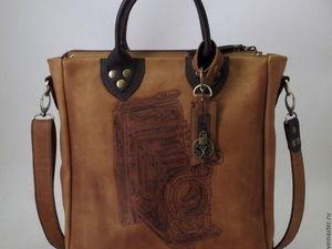 История одной сумки. Про добрые дела.. Ярмарка Мастеров - ручная работа, handmade.