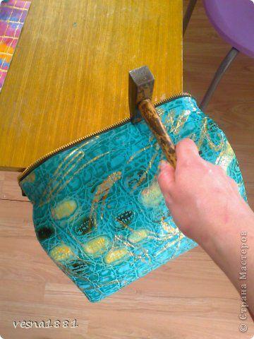 Гардероб Мастер-класс Шитьё Пошив кожаной сумки своими руками Кожа фото 13
