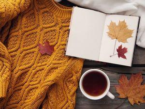 Время жёлтых листьев, тёплых свитеров.... Ярмарка Мастеров - ручная работа, handmade.