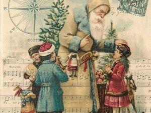 Винтажные новогодние открытки. Ярмарка Мастеров - ручная работа, handmade.
