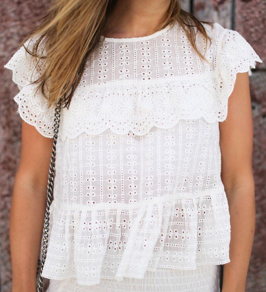 Белое бохо, или Шикарная одежда для королевы летнего пляжа, фото № 56